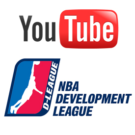 YouTube partners with NBA D-League
