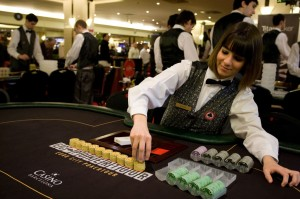 Try becoming a poker dealer
